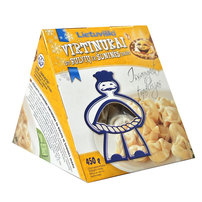 Lietuviški virtinukai su bulvių ir šoninės įdaru