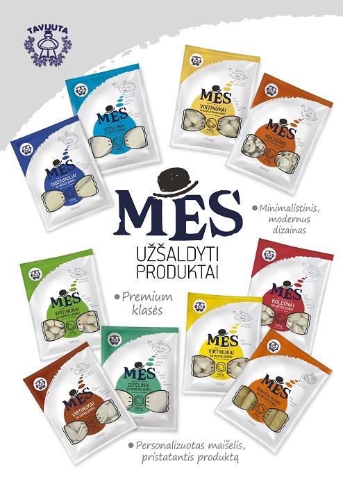 MES Šaldytų produktų linija