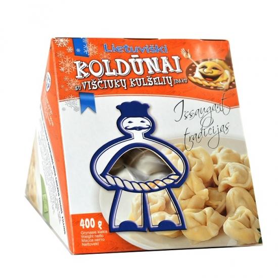 """Koldūnai """"Lietuviški"""" su viščiukų kulšelių mėsos įdaru"""
